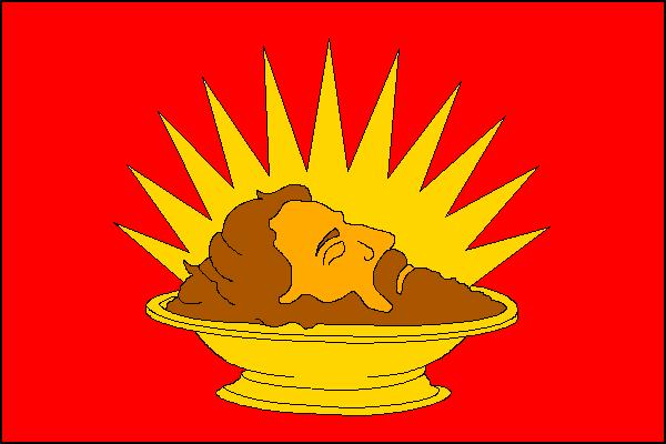 Davle - vlajka