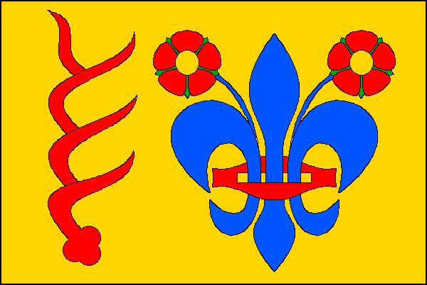 Dětřichov - vlajka