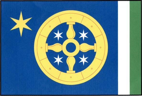 Dlažov - vlajka