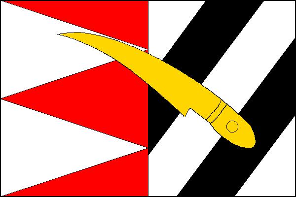 Dlouhá Loučka - vlajka