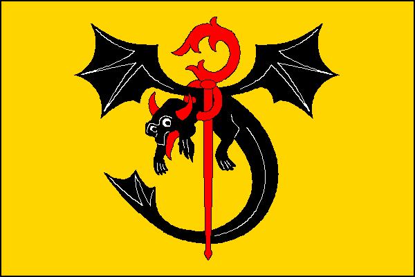 Dlouhá Třebová - vlajka