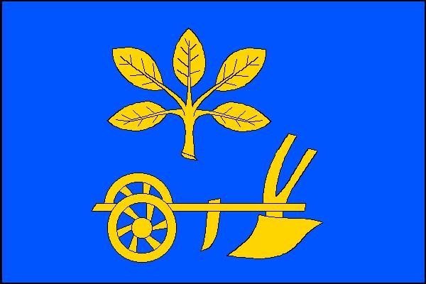 Dobratice - vlajka