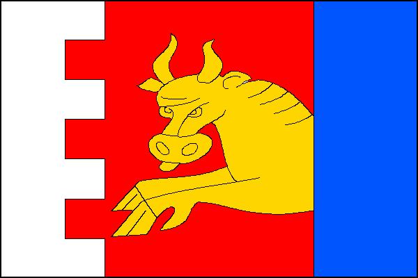 Dobronín - vlajka