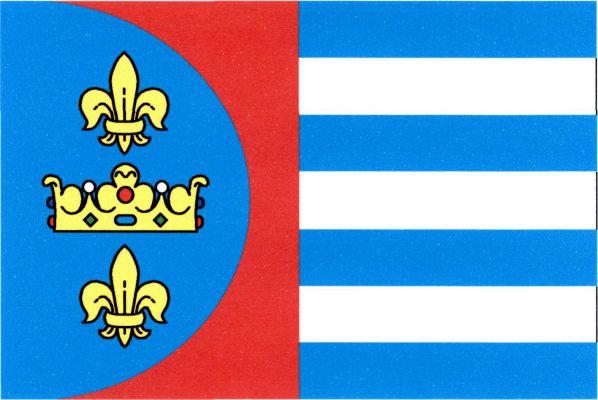 Doksany - vlajka