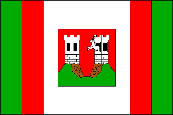 Doksy - vlajka