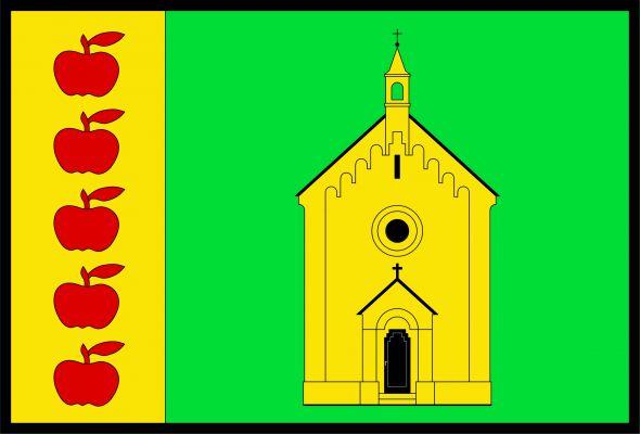 Dolany - vlajka