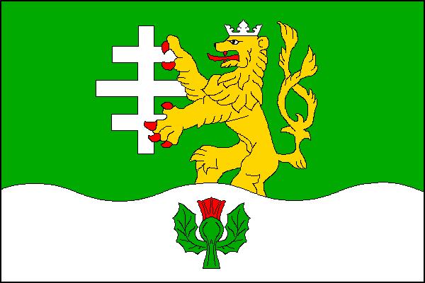 Dolní Bečva - vlajka