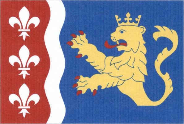 Dolní Beřkovice - vlajka