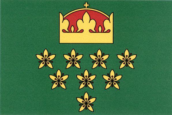 Dolní Hbity - vlajka