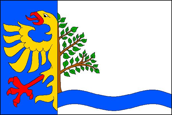 Dolní Lomná - vlajka