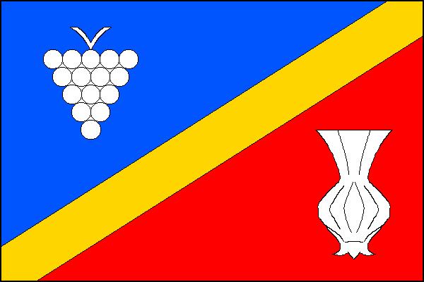 Dolní Němčí - vlajka