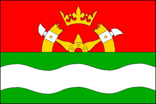 Dolní Podluží - vlajka