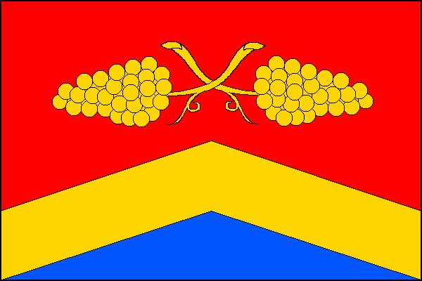 Dolní Věstonice - vlajka