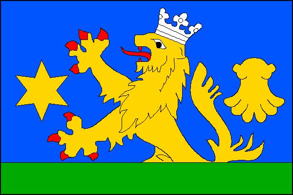Domaželice - vlajka