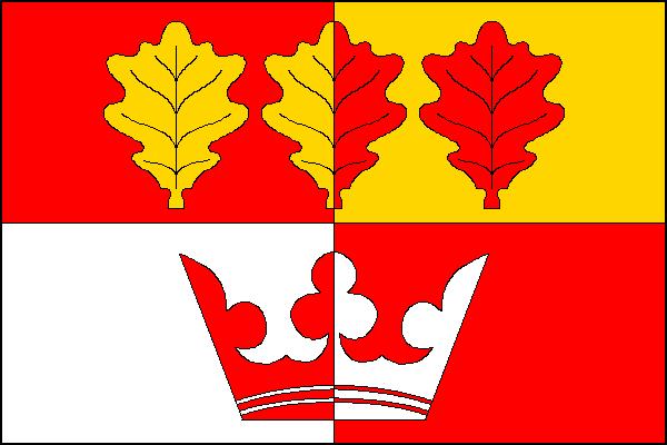 Doubek - vlajka