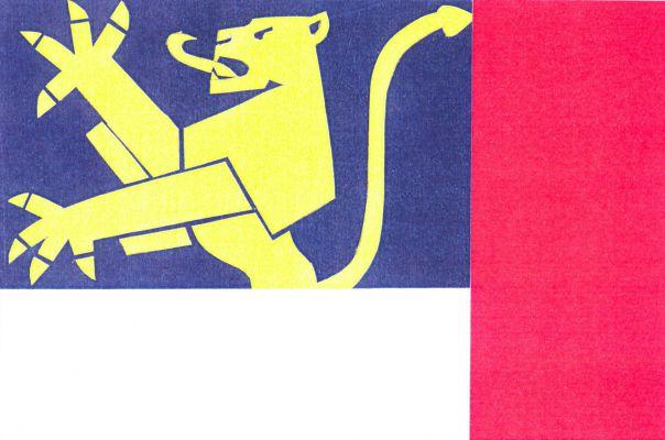Dražice - vlajka