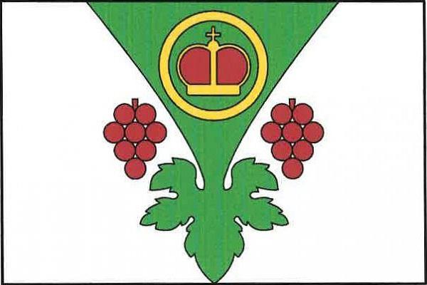 Dřísy - vlajka
