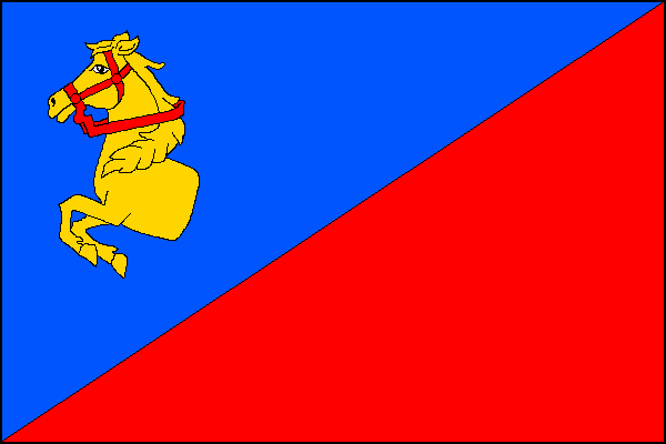 Dříteň - vlajka