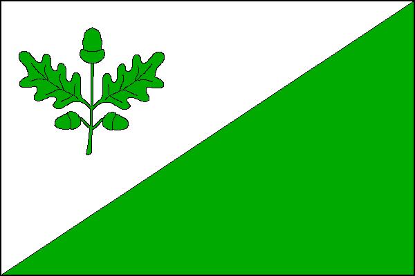 Dubá - vlajka