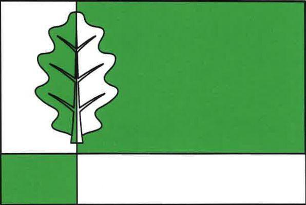Dubenec - vlajka