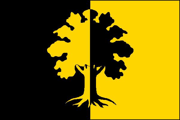 Dubí - vlajka