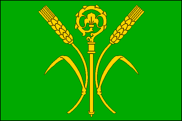 Dušníky - vlajka