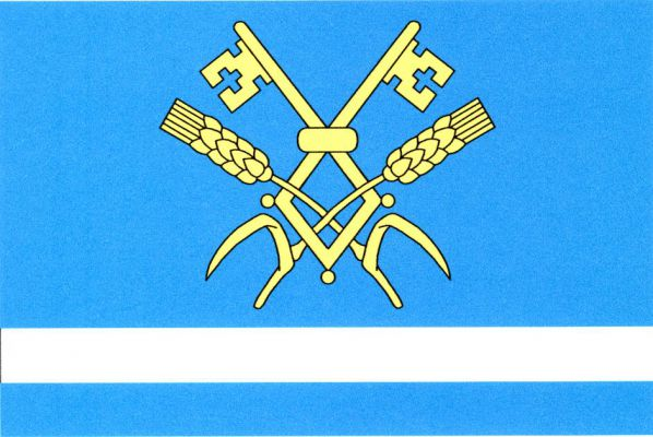 Dvorce - vlajka