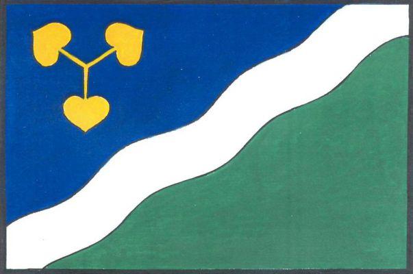 Dvory - vlajka