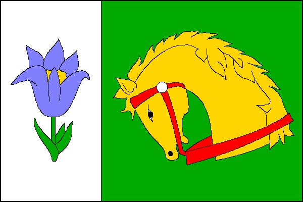 Grygov - vlajka