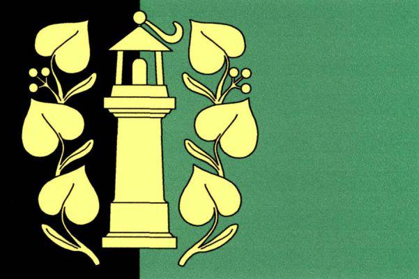 Habartov - vlajka