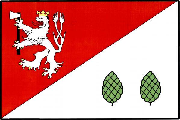 Havlíčkova Borová - vlajka