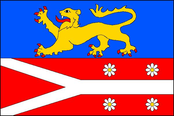 Heřmanice - vlajka