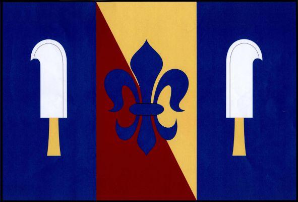 Hlinsko - vlajka