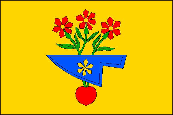 Hlohovec - vlajka