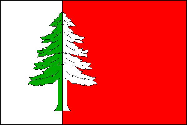 Hlubočec - vlajka