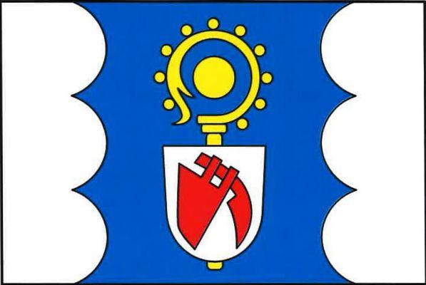 Hněvotín - vlajka