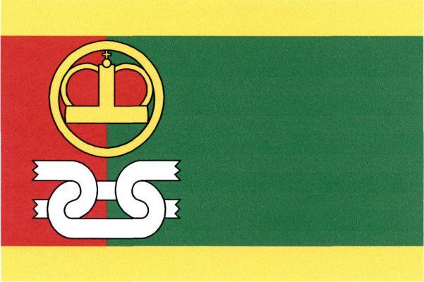 Hobšovice - vlajka