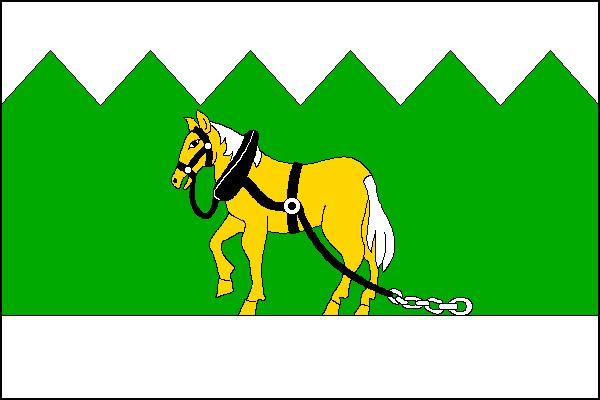 Holčovice - vlajka