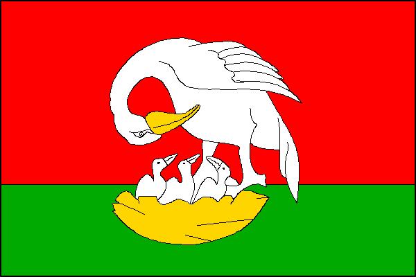 Holetín - vlajka