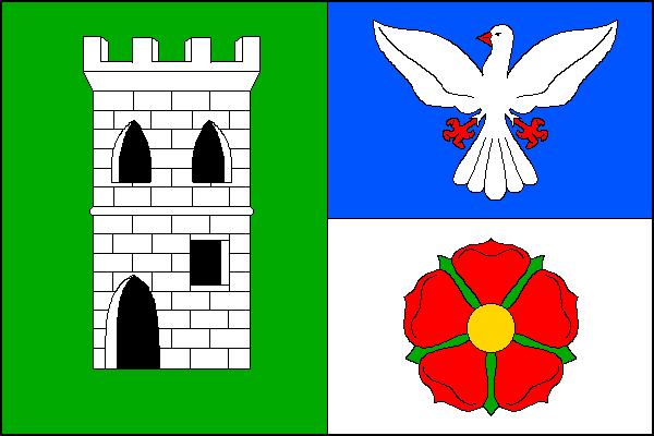 Holubov - vlajka