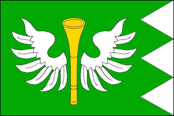 Horní Bečva - vlajka
