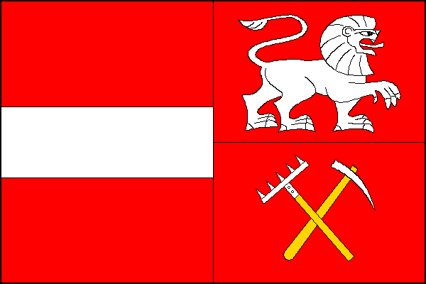 Horní Blatná - vlajka
