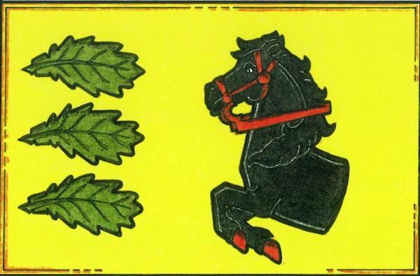 Horní Kněžeklady - vlajka