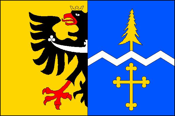 Horní Lomná - vlajka