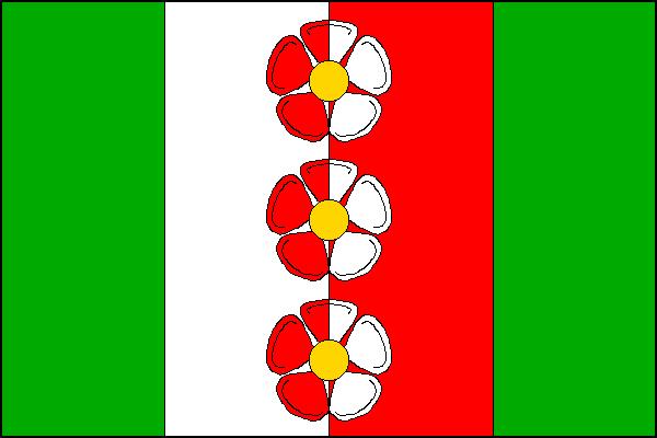 Horní Podluží - vlajka