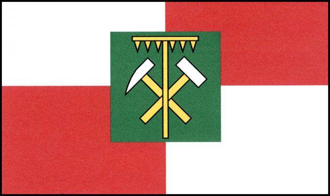 Horní Slavkov - vlajka