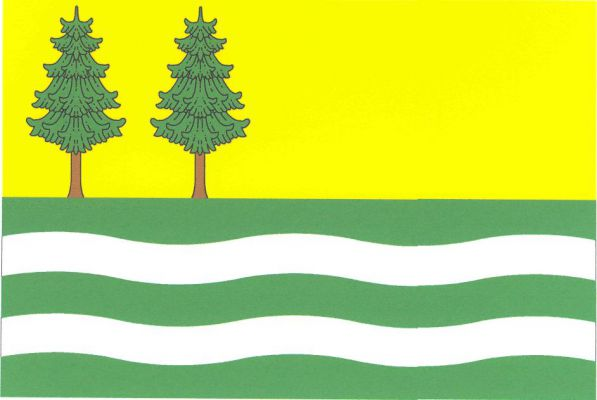 Horní Vltavice - vlajka