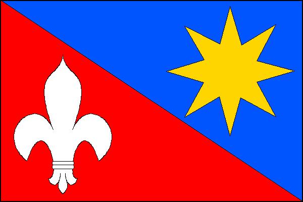 Hostětín - vlajka