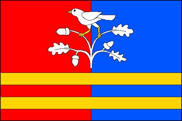 Hoštice - vlajka