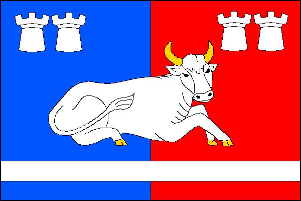 Hovězí - vlajka